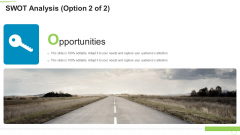 Ten Minutes Personal Introduction Swot Analysis Option This Ppt Styles Themes PDF