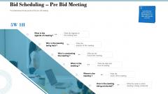 Tender Assessment Bid Scheduling Pre Bid Meeting Ppt Professional Samples PDF