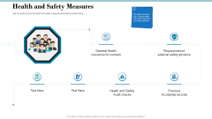 Tender Assessment Health And Safety Measures Ppt Layouts Layout PDF