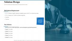 Tender Assessment Solution Design Ppt Slides Design Inspiration PDF