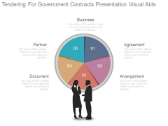 Tendering For Government Contracts Presentation Visual Aids