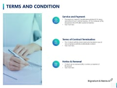 Terms And Condition Ppt PowerPoint Presentation Portfolio Example Topics