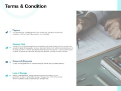 Terms And Condition Ppt PowerPoint Presentation Styles Slide
