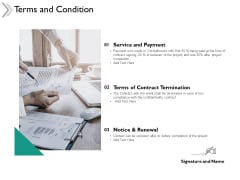 Terms And Condition Service Ppt Powerpoint Presentation Portfolio Themes