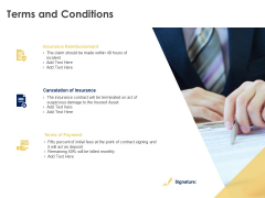 Terms And Conditions Payment Ppt PowerPoint Presentation Slides Brochure