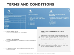 Terms And Conditions Ppt PowerPoint Presentation Icon Background Designs