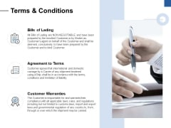 Terms And Conditions Ppt PowerPoint Presentation Model Show
