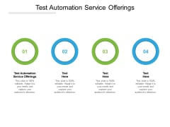 Test Automation Service Offerings Ppt PowerPoint Presentation Infographics Template Cpb Pdf