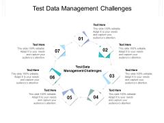 Test Data Management Challenges Ppt PowerPoint Presentation File Diagrams Cpb Pdf