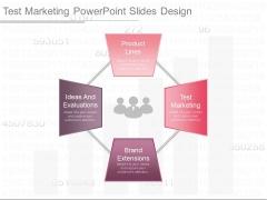 Test Marketing Powerpoint Slides Design