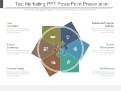 Test Marketing Ppt Powerpoint Presentation