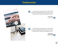 Testimonials Communication Ppt PowerPoint Presentation Model Backgrounds