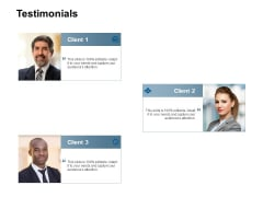 Testimonials Communication Ppt Powerpoint Presentation Styles Guidelines
