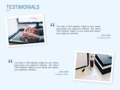 Testimonials Technology Ppt PowerPoint Presentation Layouts Introduction