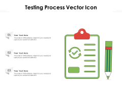 Testing Process Vector Icon Ppt PowerPoint Presentation File Inspiration PDF