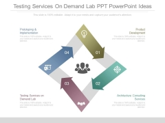 Testing Services On Demand Lab Ppt Powerpoint Ideas