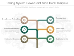 Testing System Powerpoint Slide Deck Template