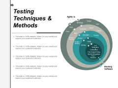 Testing Techniques And Methods Ppt PowerPoint Presentation Infographic Template Themes