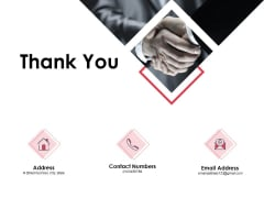 Thank You Annual Sales Performance Review Ppt PowerPoint Presentation Slides Inspiration