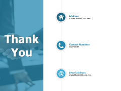 Thank You Banking Ppt PowerPoint Presentation Infographic Template Template