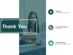 Thank You Business Continuity Plan Ppt PowerPoint Presentation Inspiration Graphics Tutorials