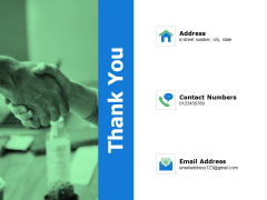 Thank You Business Succession Planning Ppt Powerpoint Presentation Gallery Deck