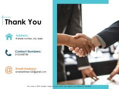 Thank You Capability Maturity Matrix CMM Ppt PowerPoint Presentation Infographics Infographics