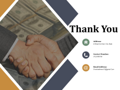 Thank You Companys Business Model Canvas Ppt PowerPoint Presentation Styles Show