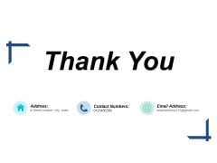 Thank You Competitive Differentiation Ppt PowerPoint Presentation Infographics Infographics