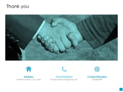 Thank You Customer Based Brand Elements Ppt PowerPoint Presentation Portfolio Summary