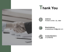 Thank You Digital Ledger Ppt PowerPoint Presentation Model Display