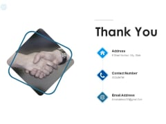 Thank You Enterprise Data Sources Ppt PowerPoint Presentation Portfolio Guide