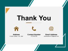 Thank You Enterprise Financial Analysis Ppt Powerpoint Presentation Outline Design Ideas