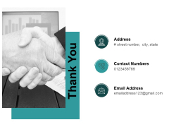 Thank You Financial Analysis In Healthcare Industry Ppt PowerPoint Presentation Gallery Styles