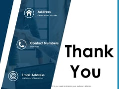 Thank You Financial Forecast Ppt PowerPoint Presentation Pictures Show