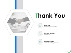 Thank You Financial Institutions Ppt PowerPoint Presentation Styles Summary