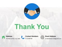 Thank You Financial Instruments Ppt PowerPoint Presentation Infographic Template Example
