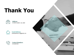 Thank You Fixed Investment Assessment Ppt PowerPoint Presentation Professional Ideas