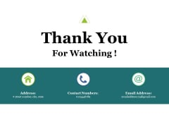 Thank You For Watching Ppt PowerPoint Presentation File Infographics