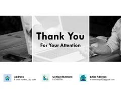 Thank You For Your Attention Performance Evaluation In Energy Sector Ppt PowerPoint Presentation Slides Display