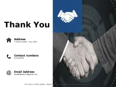 Thank You Governance Deck Ppt PowerPoint Presentation Portfolio Slideshow