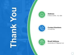 Thank You Net Working Capital Analysis Ppt PowerPoint Presentation Pictures Guide