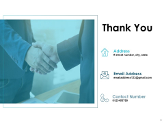 Thank You Opportunity Ppt PowerPoint Presentation Model Show