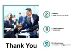 Thank You Organizational Accomplishments Ppt PowerPoint Presentation Show Example