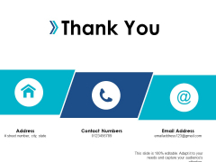 Thank You Organizational Effectiveness Ppt Powerpoint Presentation Icon Example