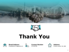 Thank You Performance Measurement In Energy Sector Ppt PowerPoint Presentation Slides Skills