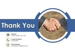 Thank You Planning Cycle Ppt PowerPoint Presentation Slides Layout Ideas