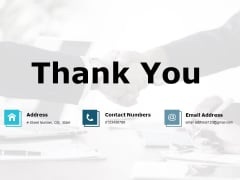 Thank You Portfolio Analysis Ppt PowerPoint Presentation Professional Topics