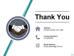 Thank You Ppt PowerPoint Presentation Infographics Ideas