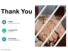 Thank You Ppt PowerPoint Presentation Outline Ideas